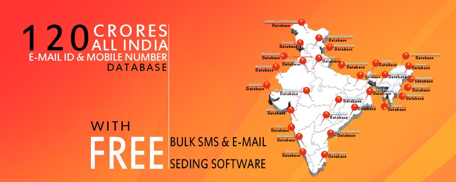 All INDIA EMAIL ID DATABASE