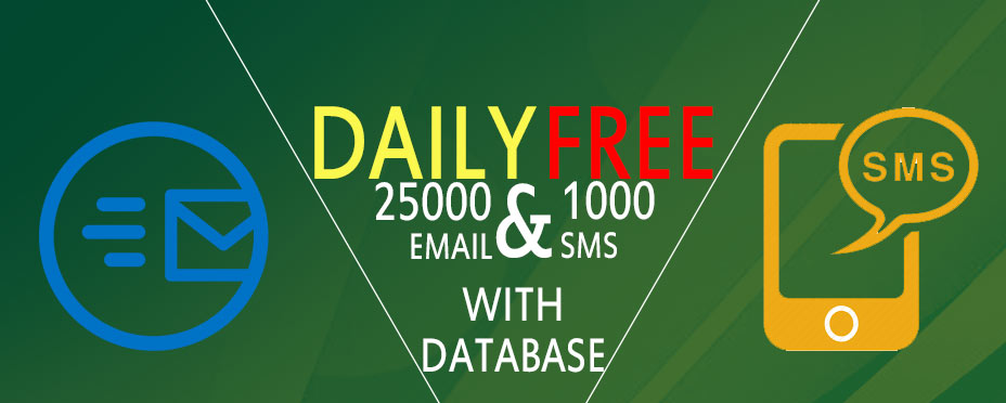 FREE BULK EMAIL & SMS SENDING SOFTWARE