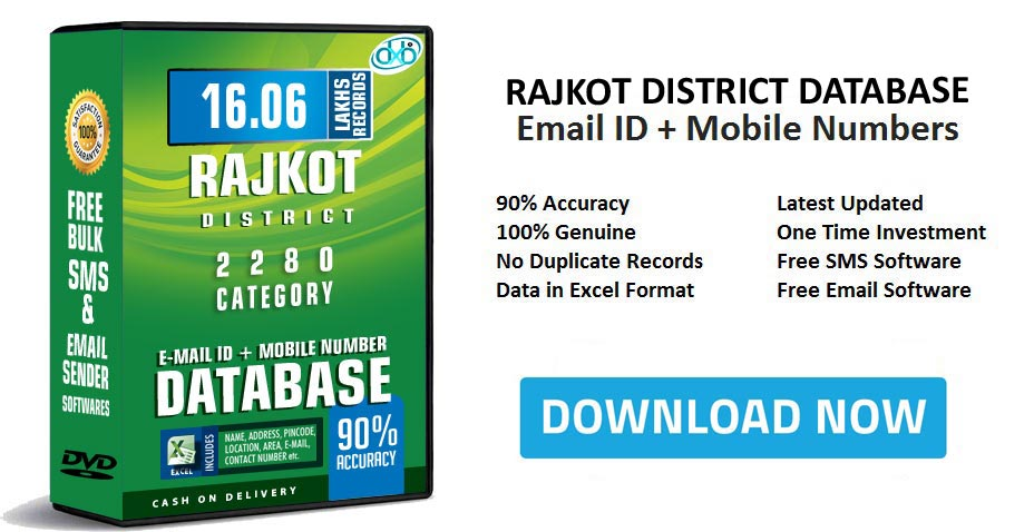 Rajkot District Email Database Free Download & Mobile Number directory